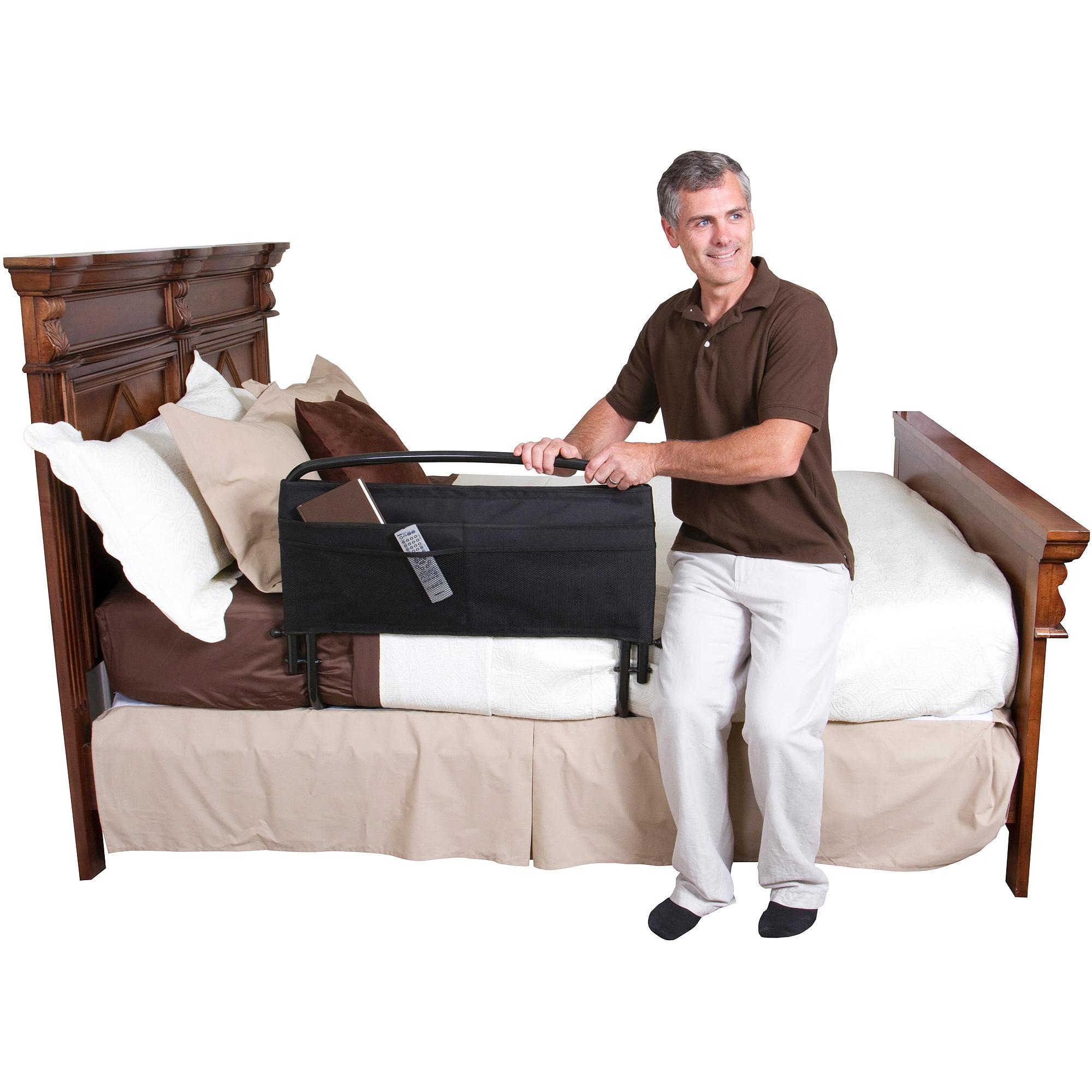 bed full pin rails cashew hanley elderly design for size westwood buy in
