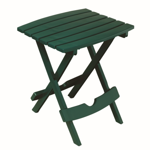 Quik-Fold Side Table - Hunter Green