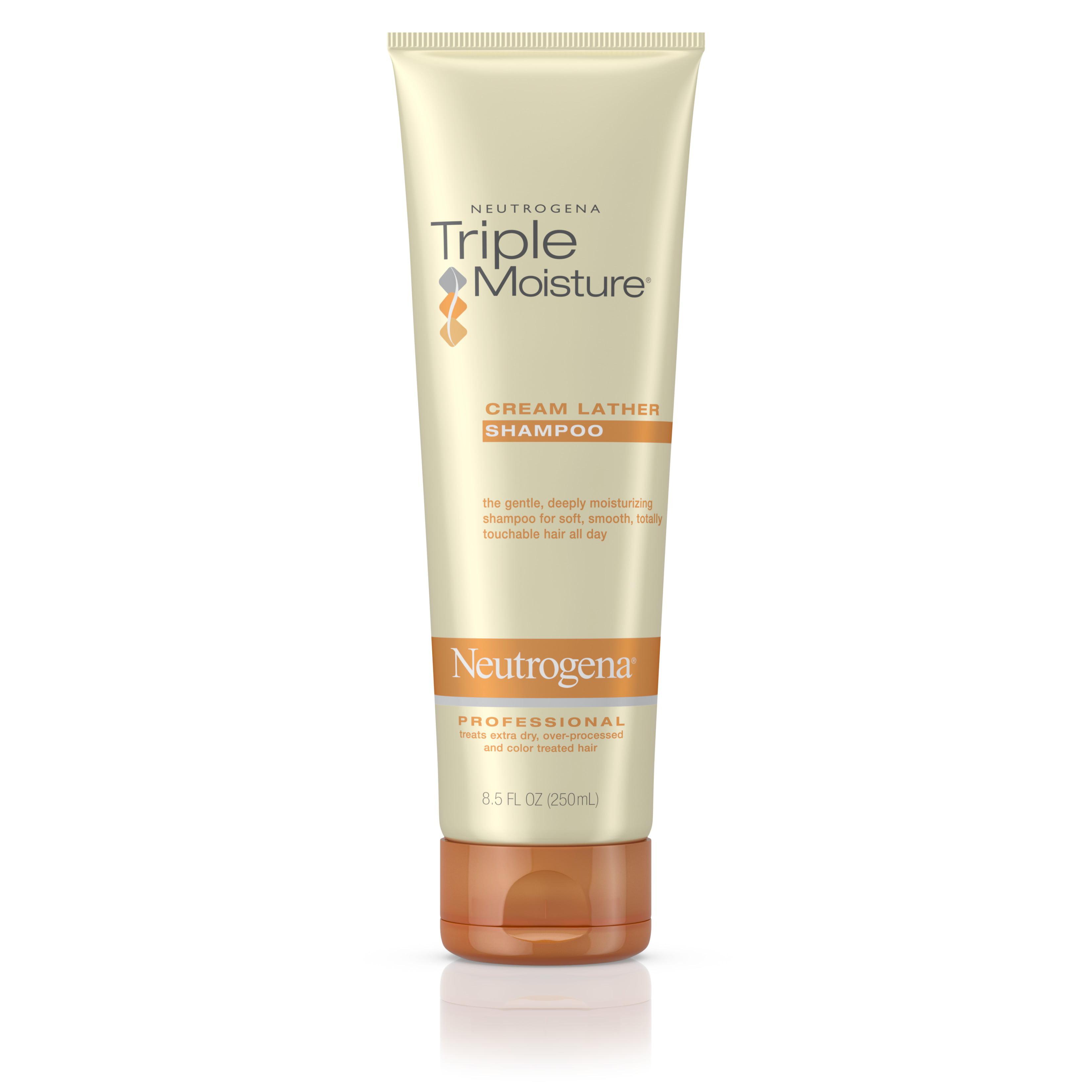 Neutrogena Triple Moisture Cream Lather Shampoo 8 5 Oz Walmart