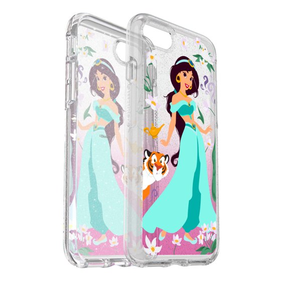 hot sale online 54dfe 63e0b Otterbox Symmetry Series Power of Princess Case for iPhone 8/7, Intelligent  Rose (Belle)