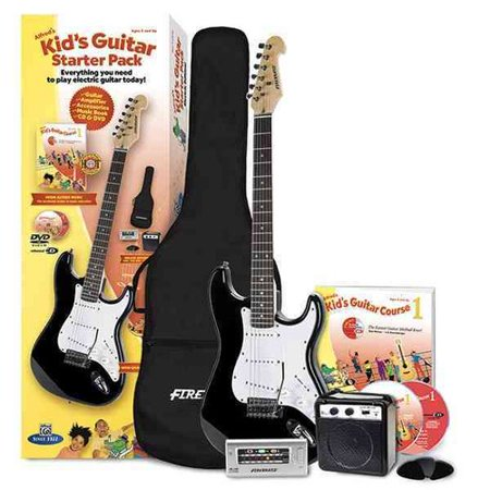 Alfreds Kids Guitar Starter Pack: Everything You Need to Play Electric Guitar Today!; Electric Edition by