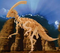 3D-Puzzle Wood Construction Kit Parasaurolophus Puzzle