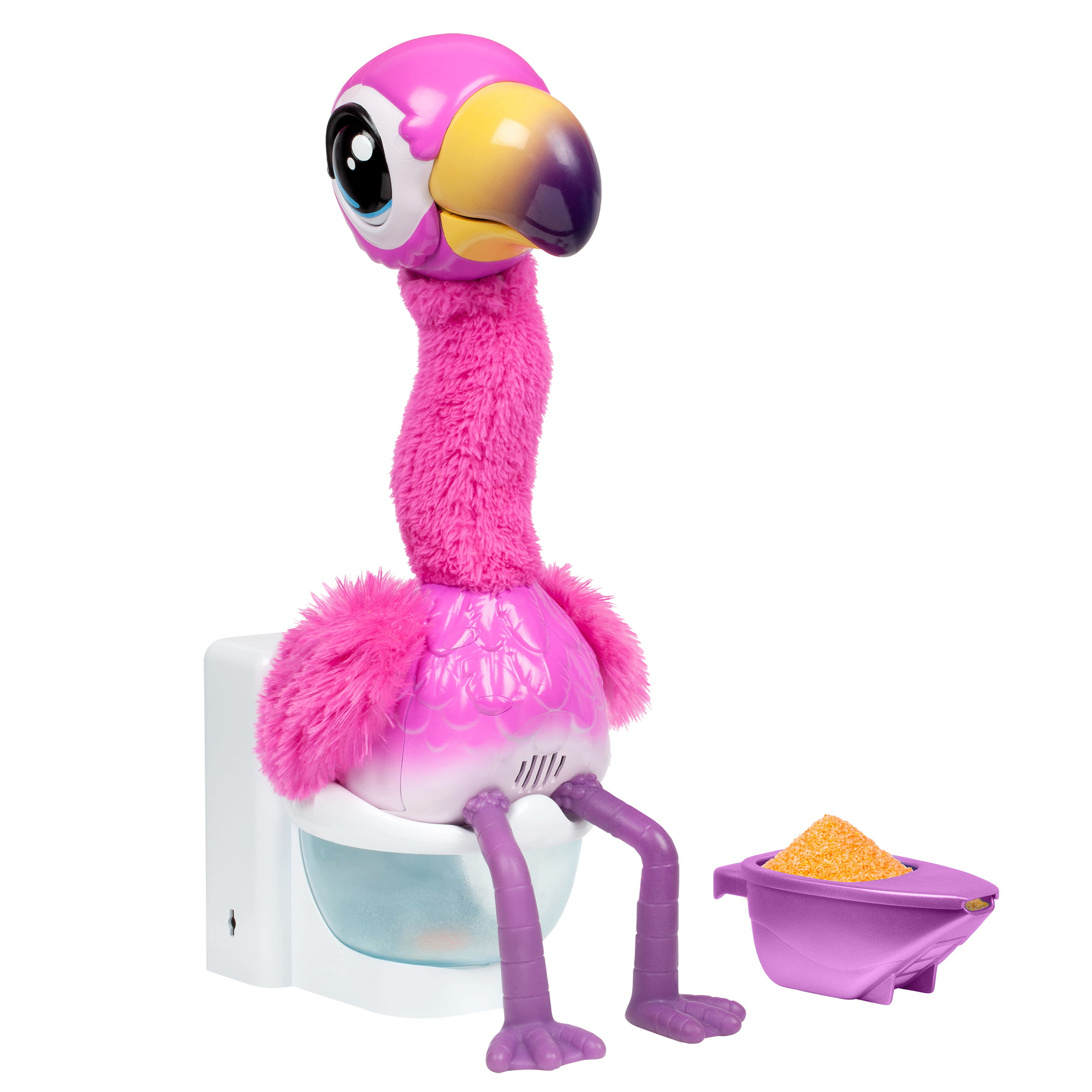 Little Live Pets Gotta Go Flamingo, Singing, Wiggling, & Pooping Toy - Walmart.com