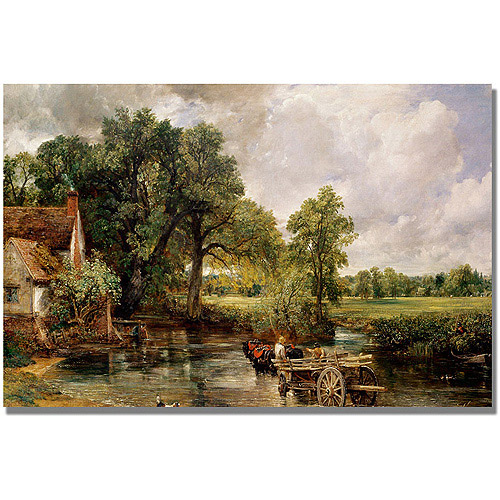 "Trademark Fine Art ""The Hay Wain"" Canvas Art by John Constable"