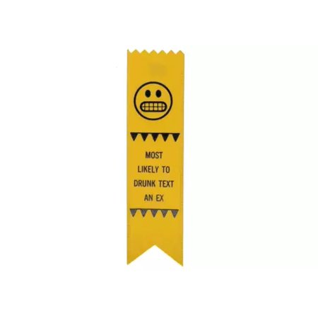 Adulting FTW Most Likely To Drunk Text An Ex Adulting Award Ribbon on Gift Card](Shipping Coupons)