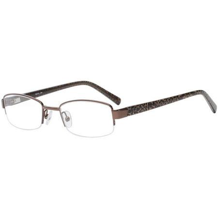 Tigress Womens Prescription Glasses, TGS112 Brown