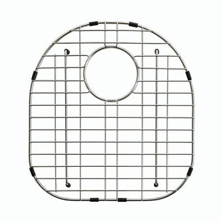 "KRAUS KBG-23-1 Stainless Steel Bottom Grid for KBU23 Left (Large) Bowl 32"" Kitchen Sink, 15 3/4"" x 16 3/4"" x 1 1/4"" Large Rectangular Sink Grid"