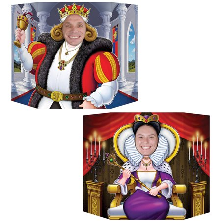 KING AND QUEEN PHOTO PROP - Prop King