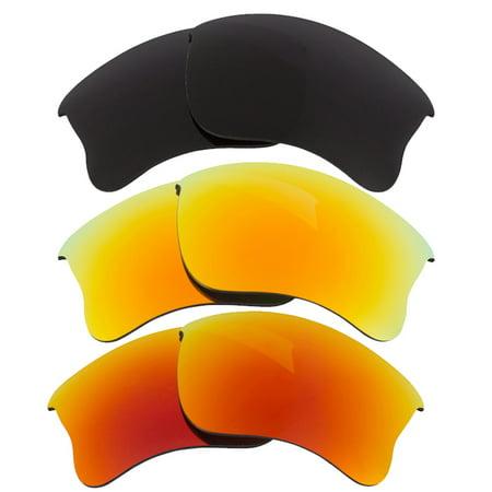ec4cb5fa126 Seek Optics - HALF JACKET 2.0 Replacement Lenses Polarized Yellow Red Grey  by SEEK fits OAKLEY - Walmart.com
