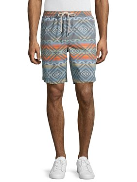 """George Men's and Big Men's 9"""" Easy Pull-On Shorts"""
