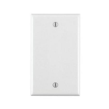 Leviton 80714-w Blank Nylon Wallplate Box Mount