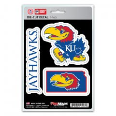 - Kansas Jayhawks Team Decal Set
