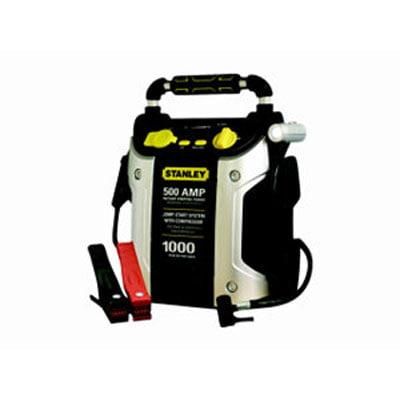Stanley J5C09 500 Amp Jumper w/Compressor