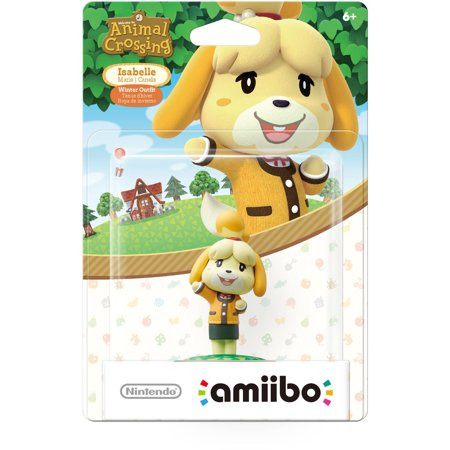 Amiibo Isabelle Winter Ac  Nintendo Wiiu Or New Nintendo 3Ds
