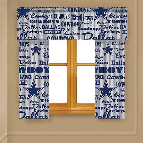NFL Anthem Window Valance, Cowboys