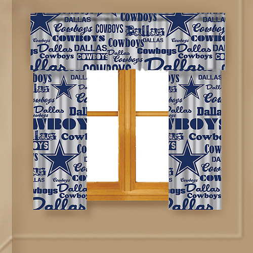 NFL Anthem Window Valance, Cowboys