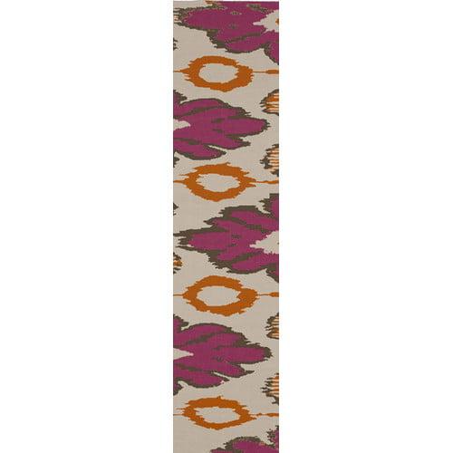 Beth Lacefield Alameda Pink/Tan Area Rug