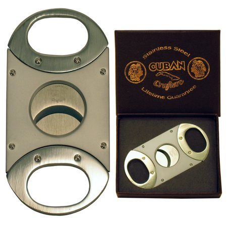 Cuban Crafters Unique Cigar Cutter with Stainless Steel (Rosewood Cigar Cutter)