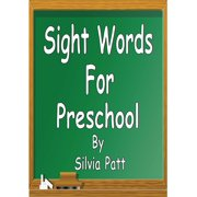 Sight Words for Preschool - eBook