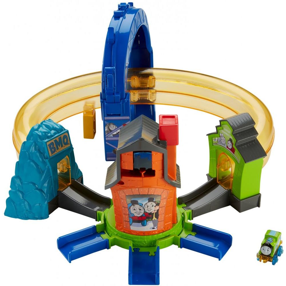 Thomas & Friends MINIS Boost 'n Blast Stunt Set by Fisher-Price