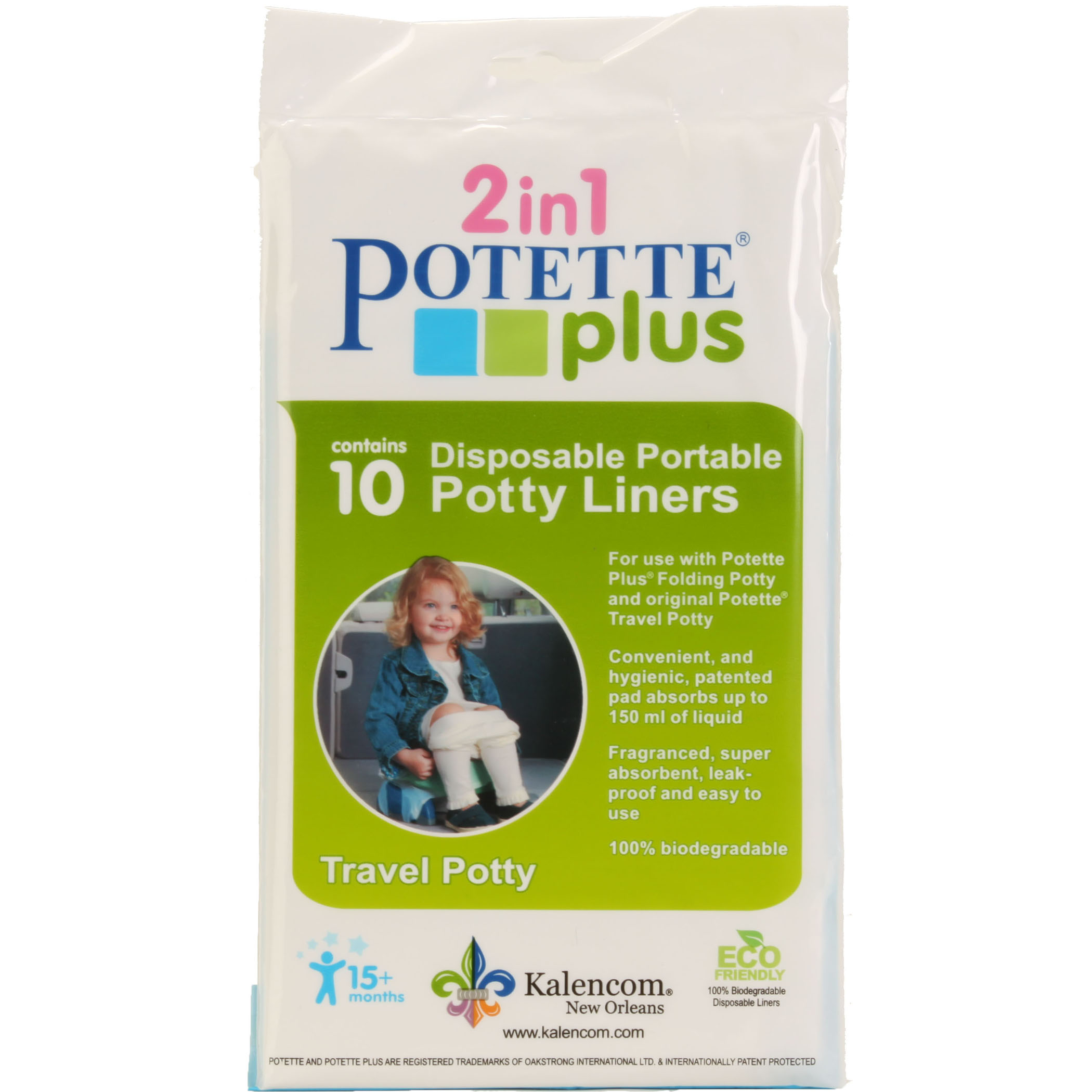 POTETTE PLUS LINERS - 10 Liners