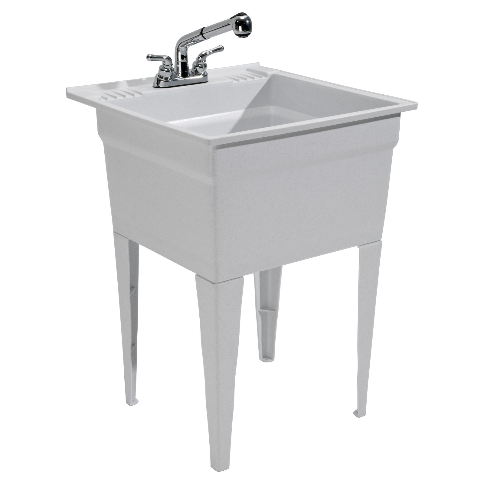 Charmant Cashel Heavy Duty Utility Sink Kit   Free Standing
