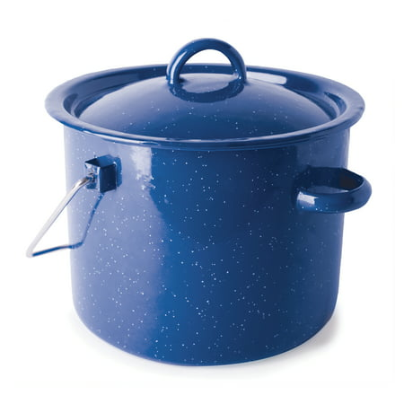Stansport Enamel Straight Pot- 3.2 QT
