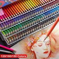 160/150/120/72 Colors Watercolor Pencils, Water Soluble Colored Pencils for Art Students Professionals -Assorted 160 Colors for Sketch Coloring Pages
