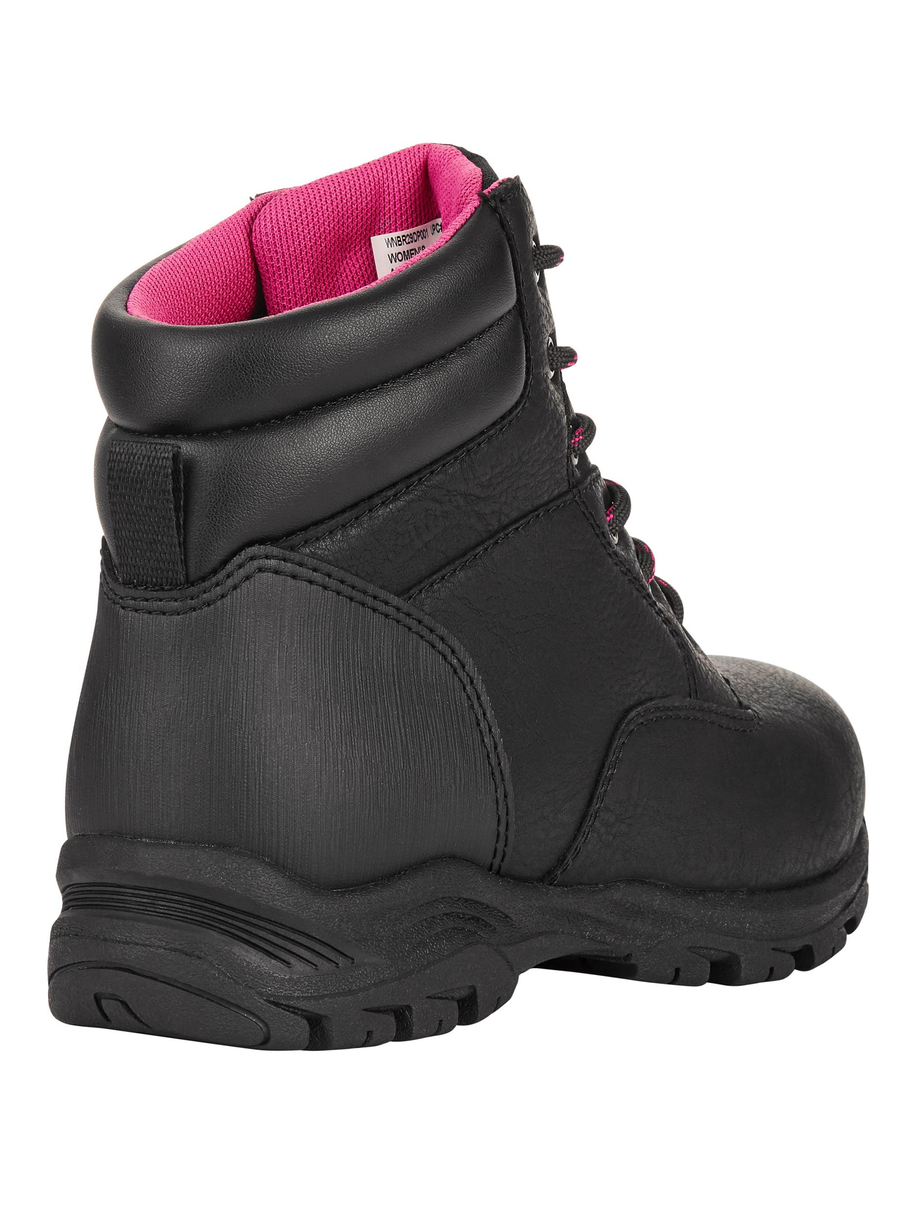 7914bfabad84 BRAHMA - Brahma Women s Bevel Steel Toe Work Boot - Walmart.com