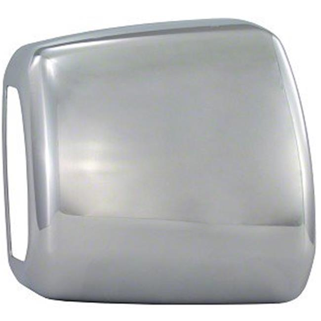 Exterior Mirror Cover, Chrome Plated