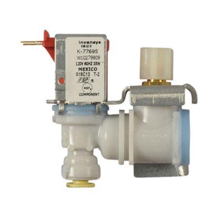W10279909 Whirlpool Refrigerator Valve Assy-Water OEM 2117143