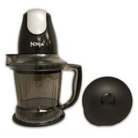 Refurbished Ninja QB750Q2 400 Watts Prep Blender-BLACK