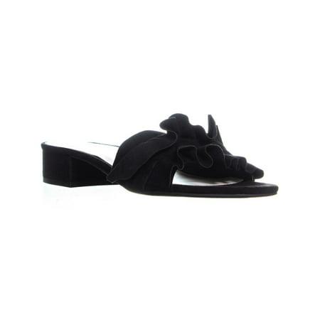 Womens A35 Monah Slide On Sandals, Black (Black Womens Sandals)