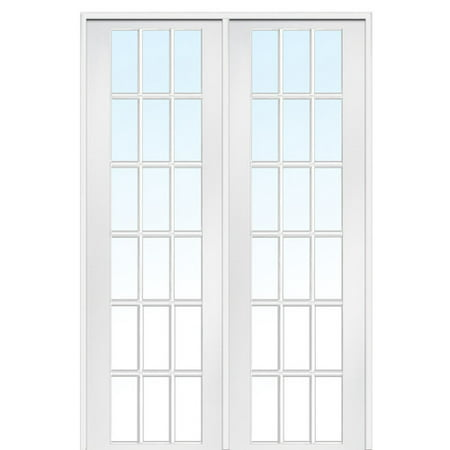 Masonite Verona Home Design Mdf Primed Interior French Door From