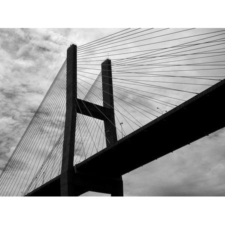 Canvas Print Structure Bridge Bridge Span Usa Architecture Stretched Canvas 10 x 14