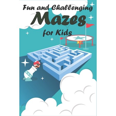 Fun and Challenging Mazes for Kids: An Amazing Maze Activity Book for Kids,100 Fun First Mazes for Kids, 6-10 year old - Maze Activity Workbook for Children: Games, Puzzles and Problem-Solving (Maze L