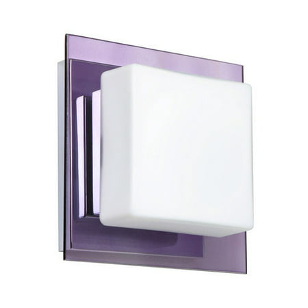 Besa Lighting Alex 1-Light LED Wall Sconce 6.313W 6.313H Alex 1 Light