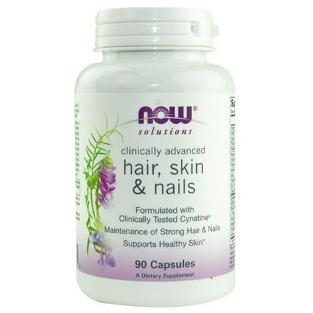 Now Foods  Solutions  Hair  Skin   Nails  90 Capsules (Hair Now)