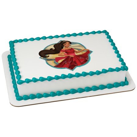 Elena Of Avalor Ready To Rule 1 4 Sheet Image Cake Topper Edible Birthday Party