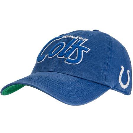 Indianapolis Colts Logo Modesto Adjustable Baseball Cap by