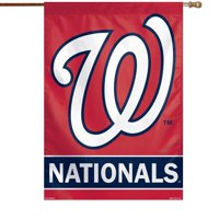 "Washington Nationals WinCraft 28"" x 40"" Primary Logo Single-Sided Vertical Banner"
