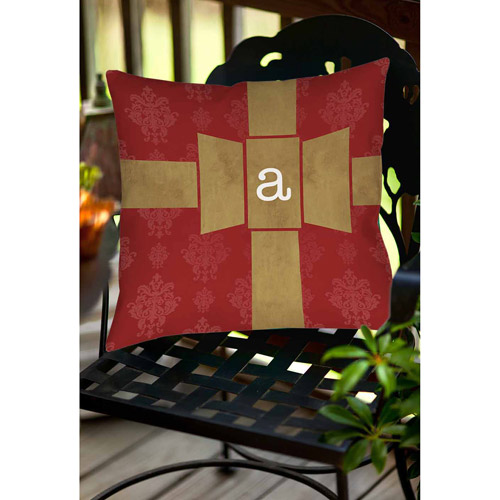 Thumbprintz Giftwrap Monogram Decorative Pillows