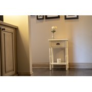 Bailey Bead board 1-Drawer Accent Table
