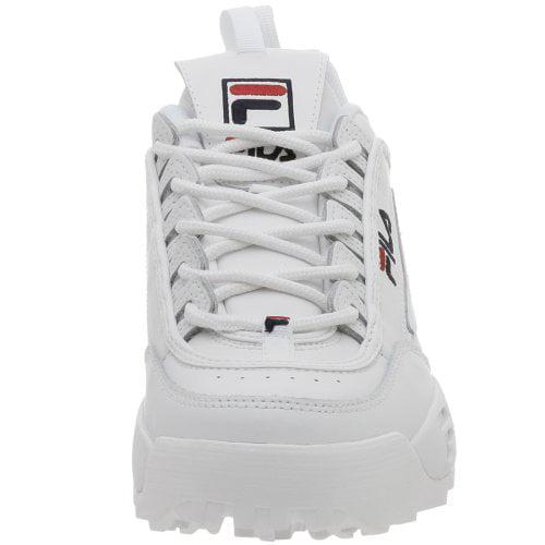 51e4c4d6225a Fila - Fila FW01655-111   Men s Disruptor II Sneaker White - Walmart.com