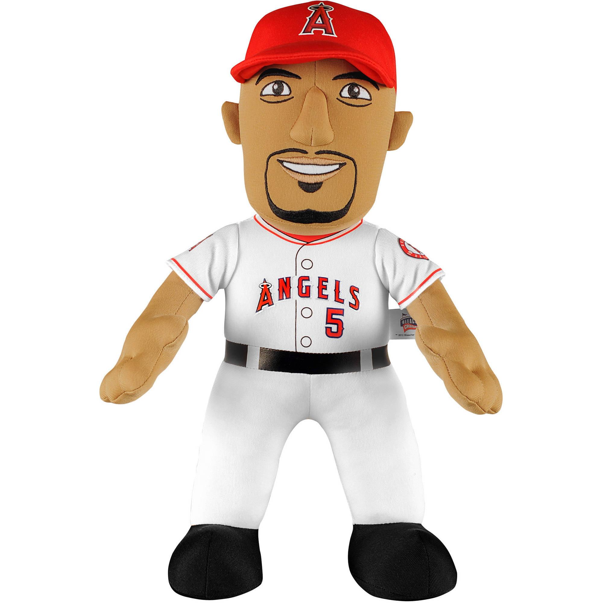 "Bleacher Creatures MLB 14"" Plush Doll, Albert Pujols, Los Angeles Angels"