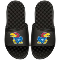 Kansas Jayhawks ISlide Primary Logo Slide Sandals - Black