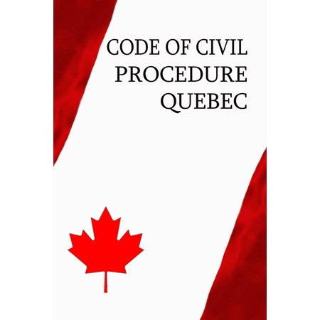 Code of Civil Procedure Québec - eBook