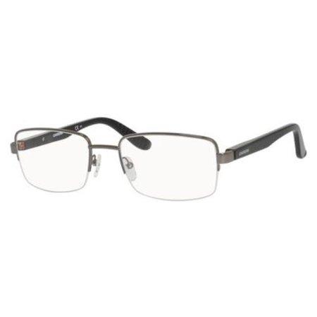 - CARRERA Eyeglasses 8808 0CVL Dark Ruthenium / Black 56MM