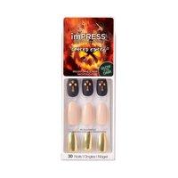 imPRESS Press-on Manicure Kit - Halloween Designs in Shadow