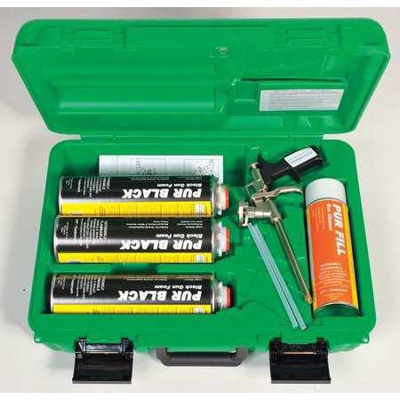 TODOL SPS02 Spray Foam Sealant Kit, Black